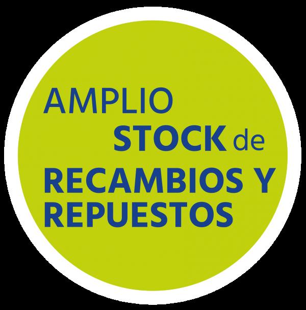 Amplio Stock de Recambios y Repuestos